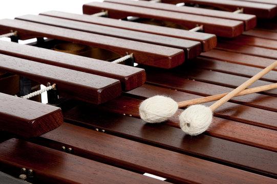 Marimba with mallets