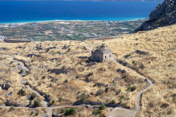 ruins of Acrocorinth