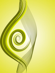 Wall Murals Spiral abstrakte spirale