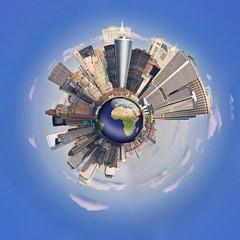 Concept de la Mondialisation - XXL