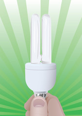 Efficient bulb