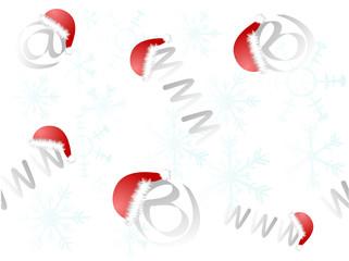Abstract christmas web icons - vector illustration