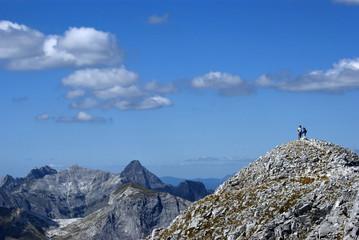 Toscana, Alpi Apuane, sul crinale della Pania della Croce 3