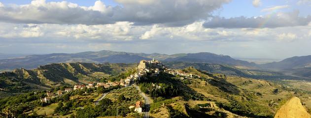 paesaggio paese Noepoli