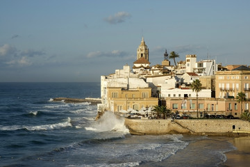 Waves in Sitges
