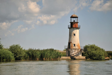 Old signal tower from Sulina