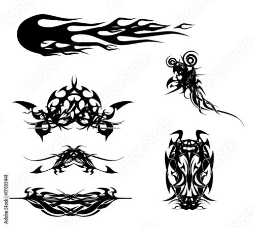 tribal muster stockfotos und lizenzfreie bilder auf bild 17035441. Black Bedroom Furniture Sets. Home Design Ideas