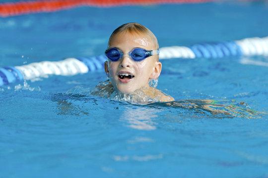 Brustschwimmen