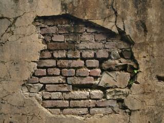 Mauerhintergrund