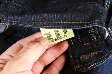 Jeansetikett