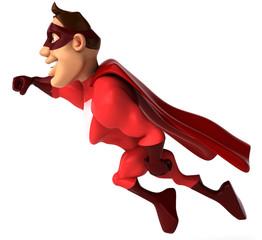 Superhéros en vol