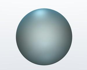 sphère bleue