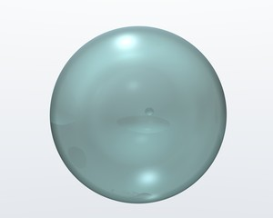 sphère transparente