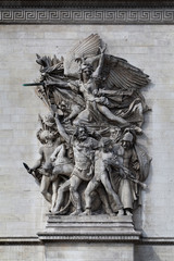 Relief at Arc de Triomphe