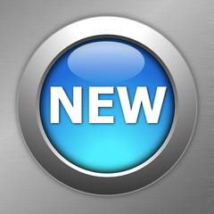 blue new button