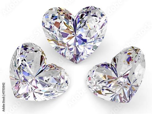 Сердца драгоценности камни без смс