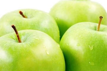 green apples.