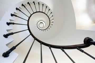 Foto auf Acrylglas Leuchtturm lighthouse staircase