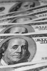 Bills of 100 US dollars