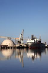Seaport Reflection
