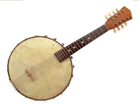 Vintage Six String Banjo
