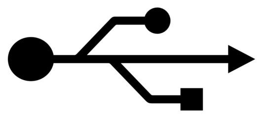 USB Symbol (vector)