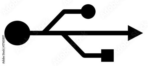 quotusb symbol vectorquot stockfotos und lizenzfreie vektoren