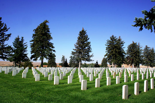 National Cemetery - Little Bighorn Battlefield
