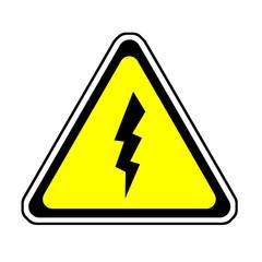 Flash Warning Sign