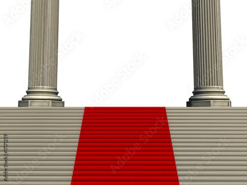 roter teppich auf der treppe stockfotos und lizenzfreie. Black Bedroom Furniture Sets. Home Design Ideas