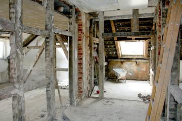 Dachboden Sanierung