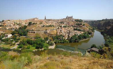 Toledo, general view, Spain