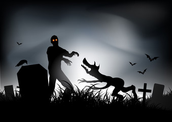Zombie VS Werewolf