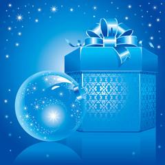 wonderful Christmas illustration. Vector.