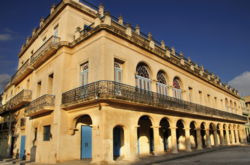 Old havana colonial building
