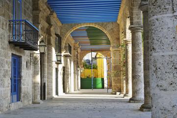 Havana building corridor