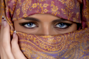 Beautiful muslim woman