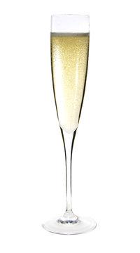 Champagne glass celebration