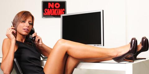im büro rauchen