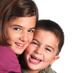 bambini felici - fratelli