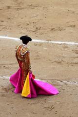 Tuinposter Stierenvechten bullfighter