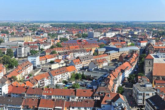 Hildesheim von oben