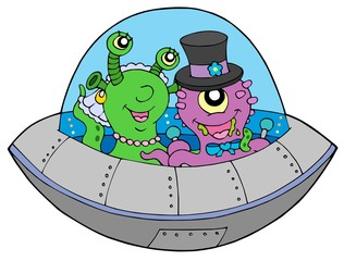 UFO wedding