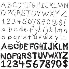 Hand Written Typography