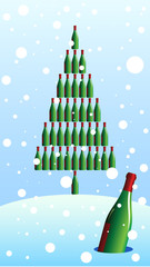 bottle fir