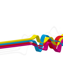3D Squiggle Lines