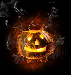 Poster Vlam flamy symbol