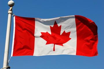 Foto auf Leinwand Kanada drapeau du canada