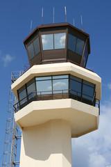 Tower des Flughafens Skiathos