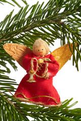 Weihnachtsbaumschmuck Stoffpuppen